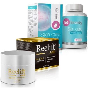 Reelift Nano Age 50g + Be Beauty Skin Care 60 cáps - Combo