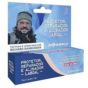 Protetor, Reparador e Alisador Labial 3,5g BioWorld