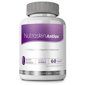 Nutraskin Antiox 60 cáps - Antioxidante para pele