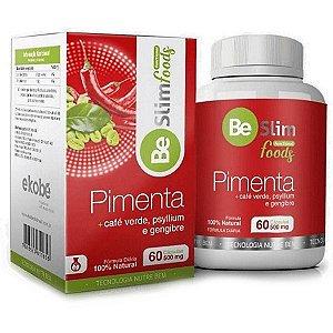 Be Slim Pimenta 60 cáps - Termogênico