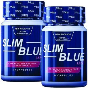 Slim Blue Loss 30 cáps - kit 2 unidades