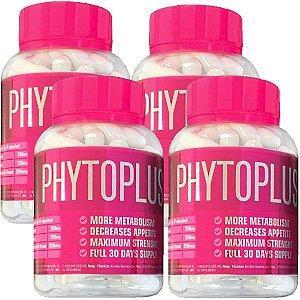 Kit Phytoplus X - 60 Cáps - 4 unidades