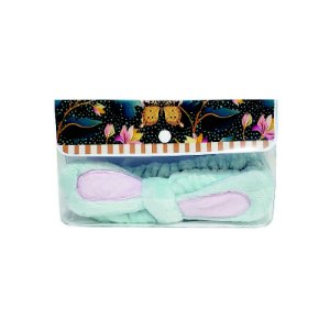 Kit Orelhinha para make  borbolinda azul