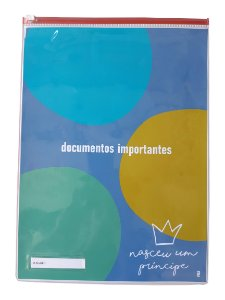 Pasta documentos importantes menino - bola