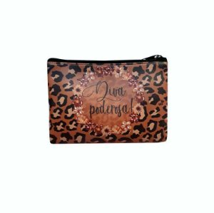 Necessaire carteira  Animal Print