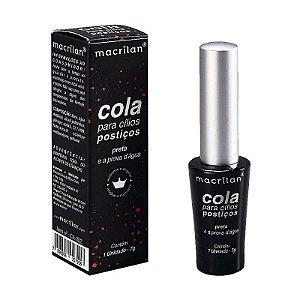 Cola para Cílios Preto a Prova D'água Macrilan