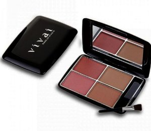 Kit Blush com 4 cores Brilhosas Vivai