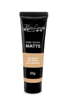 Base Facial Matte Hidratante Alta Cobertura Miss Lary