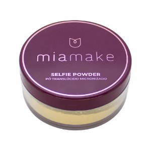 Pó Translúcido Micronizado Selfie Powder Não Estoura no Flash Mia Make