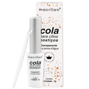 Cola de cílios Transparente á prova D'água Macrilan