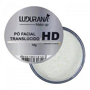 Pó Solto Facial HD Translúcido Ludurana