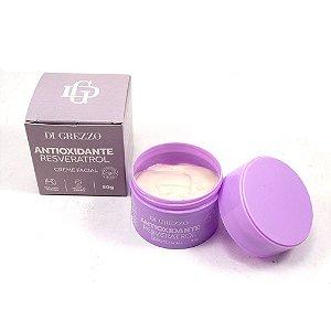 Creme Facial Antioxidante Resveratrol Hidratação Di Grezzo