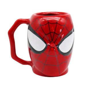 Caneca Marvel 3D Homem Aranha 400ml