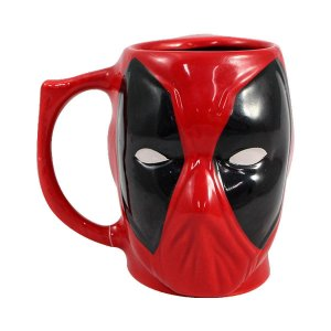 Caneca Marvel 3D Deadpool 400ml