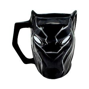 Caneca Marvel 3D Pantera Negra 400ml