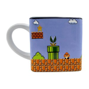 Caneca Cubo Mário Fases Pixels 300ml