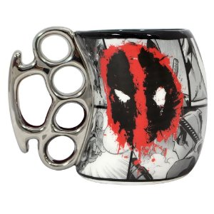 Caneca Marvel Soco Inglês Deadpool 350ml