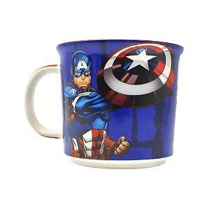 Caneca Marvel Tom Capitão América Tie Die 350ml