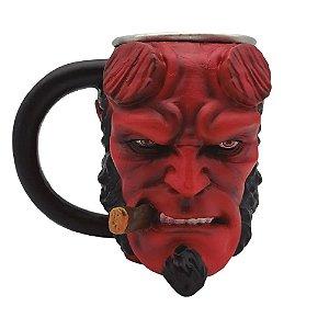 Caneca 3D Hellboy 300ml