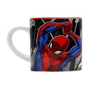 Caneca Cubo Marvel Homem Aranha 300ml