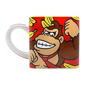 Caneca Cubo Nintendo Donkey Kong 300ml