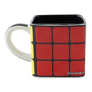 Caneca Cubo Mágico Rubiks 300ml