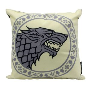Almofada Fibra Veludo 25x25 Game of Thrones Stark
