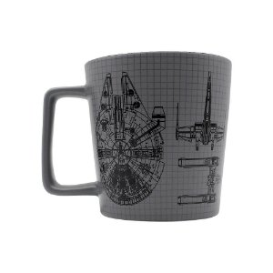 Caneca Star Wars Buck Naves 400ml
