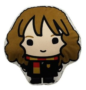 Almofada Fibra Veludo Harry Potter Hermione