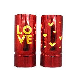 Conjunto c/ 2 Luminárias Love