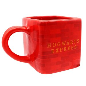 Caneca Cubo Harry Potter Hogwarts Express 300ml