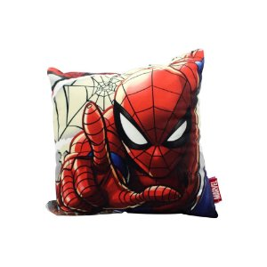 Almofada Fibra Veludo 25x25 Marvel Homem Aranha