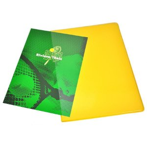 Capa de Papelão Empastada em PVC Colorida Com Espaço Para Encartes