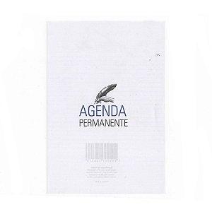 Miolo de Agenda Executiva Permanente Refilado – Modelo Azul