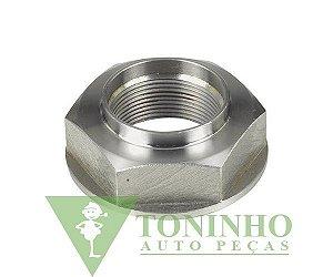 PORCA DO EIXO ENTALHADO DO CAMBIO 32X1.5X56mm - Mercedes 1620 (0049901451)