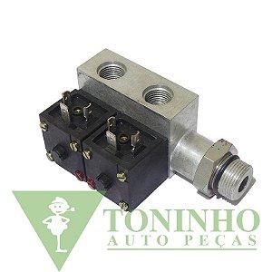 Válvula Solenóide Acionamento F.Motor/Vacuo(24V) - Mercedes (0004204971)