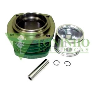 KIT CILINDRO COMPRESSOR AR 4 FUROS 77MM - MERCEDES (3441317002)