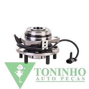 CUBO DA RODA DIANTEIRA COM ABS CHEVROLET S10/BLAZER 4X4 98/2011 (ALB70-316)
