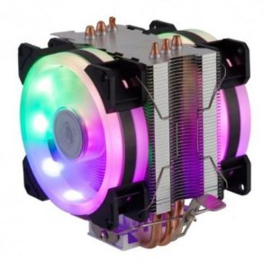 Cooler Dex Universal Fan Duplo Rgb Mod Dx-9107d