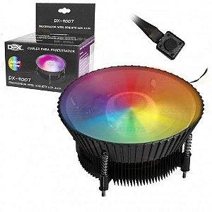 Cooler P/ Processador Dex Intel 1150p / 1151p / 1155p Mod Dx-9007