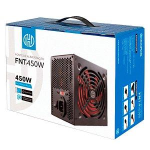 Fonte 450W Real Hoopson MOD FNT-450W