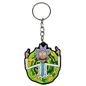 Chaveiro Rick - Rick and Morty