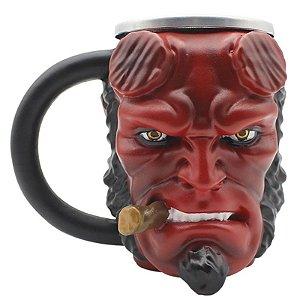 Caneca Hellboy 3D 250ml