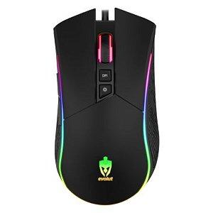 Mouse Gamer Eg106/Skadi Com Fio -Evolut