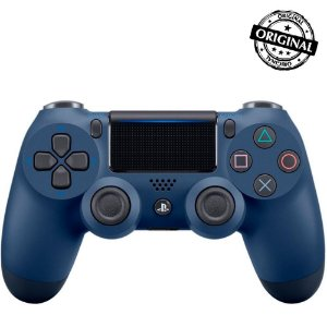Controle Dualshock 4 PS4 - PlayStation 4 - Azul Original Sony