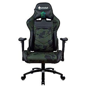 Cadeira Gamer Eg950/ Marine (Camuflado) -Evolut