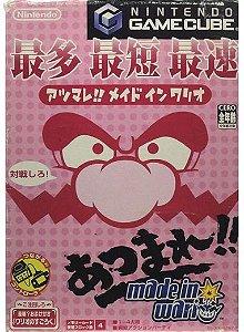 Atsumare!! Made in Wario - GameCube (Japonês)