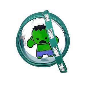 Bolsa Para Moedas Com Alça Marvel Hulk