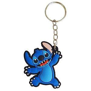 Chaveiro Stitch - Lilo & Stitch - Emborrachado