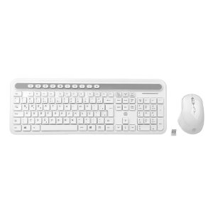 Teclado + Mouse HP USB S/Fio Mod: CS500 Branco